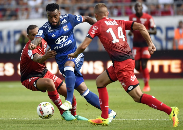 Lyon twice loses lead in 4-2 defeat away to Dijon