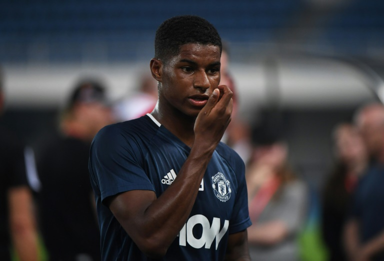 Manchester United manager Mourinho hints at Rashford derby plans