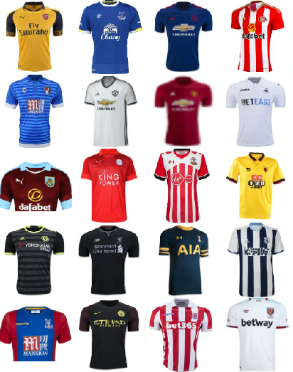 newest d6716 896ae Best 2016/17 Premier League jerseys, ranked - World Soccer Talk