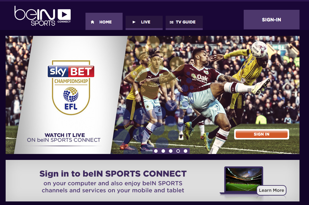 0c2fb5043c6 beIN SPORTS Connect becomes vital streaming service for soccer fans in USA