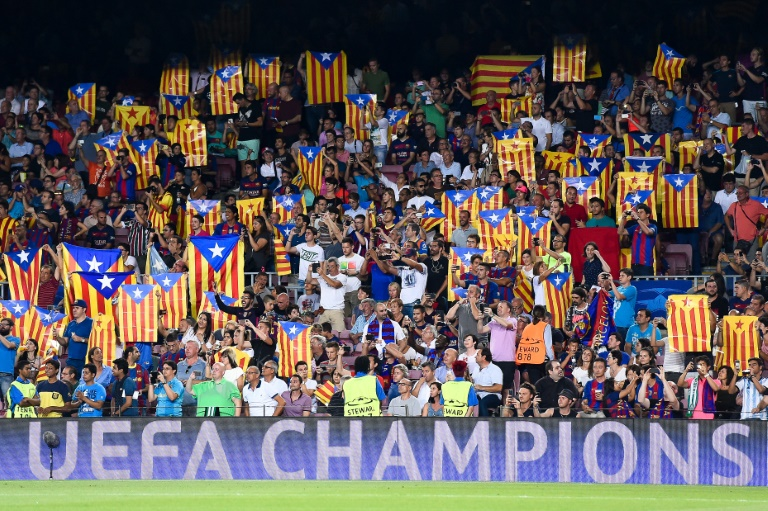 Barcelona fans plan pro-independence protest against Celtic