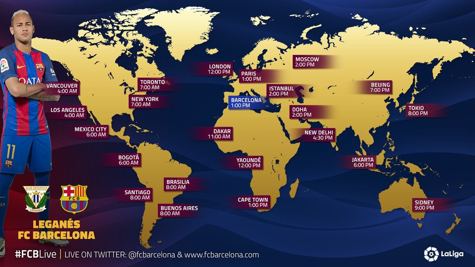 Where to find Leganes vs. Barcelona on US TV and streaming ...