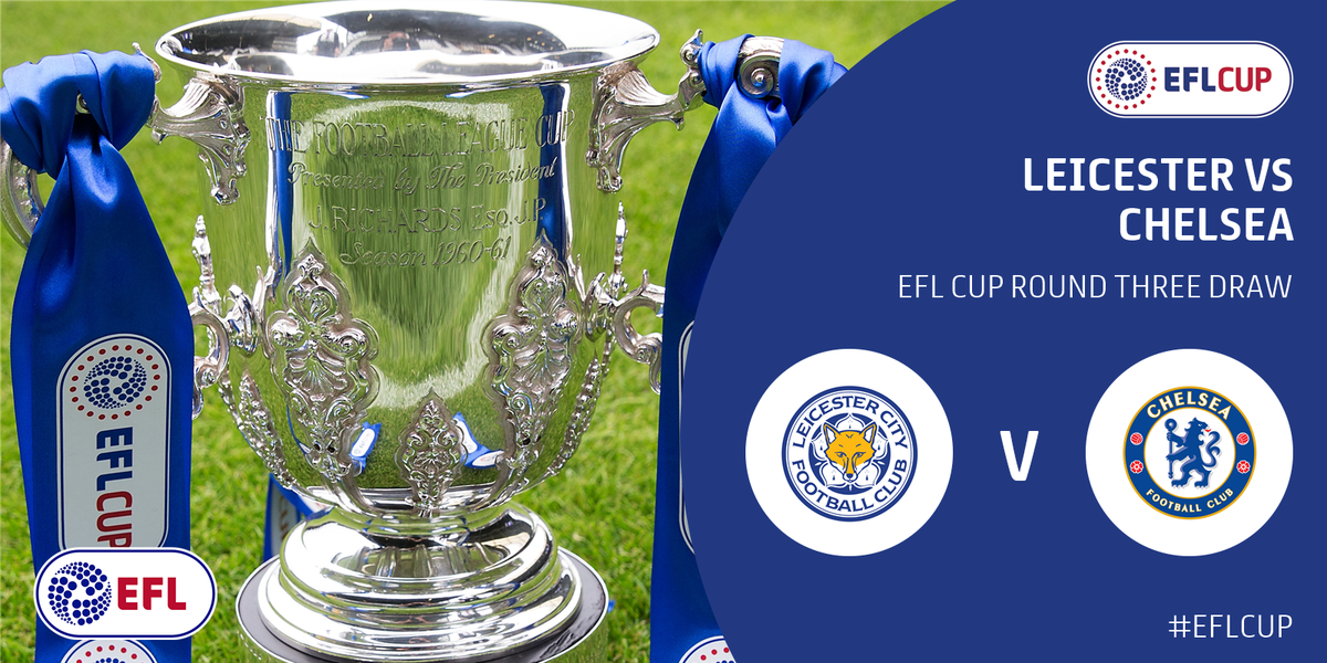 Image result for leicester city vs chelsea EFL Cup