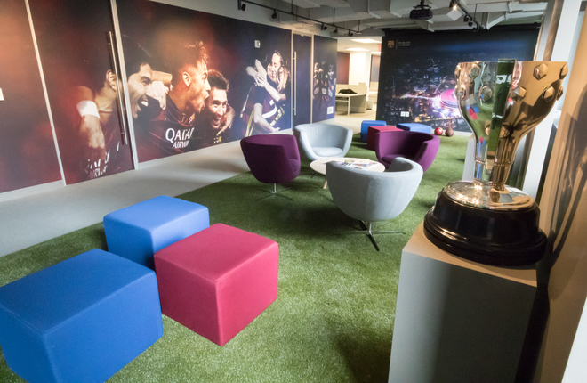 Fc barcelona plants flag on us soil with opening of new york city office world soccer talk - Oficinas fc barcelona ...