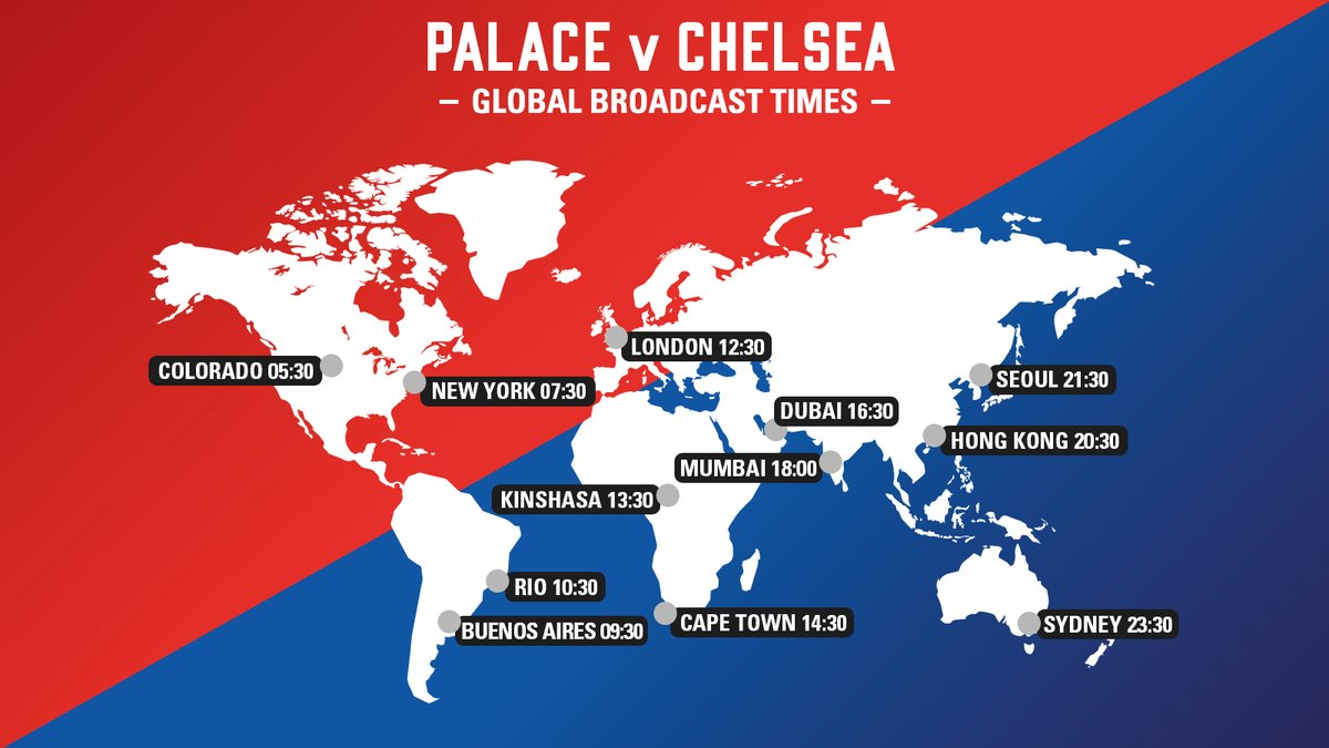 ... watch Crystal Palace vs. Chelsea, you've come to the right place