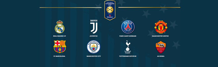 Image result for international champions cup USA 2017