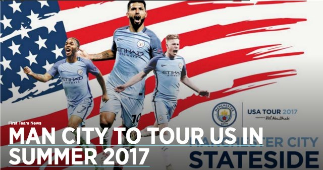 Manchester City Announces Summer Tour Of United States - Tour of the states