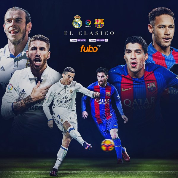 Real Madrid Vs Barcelona Live Now