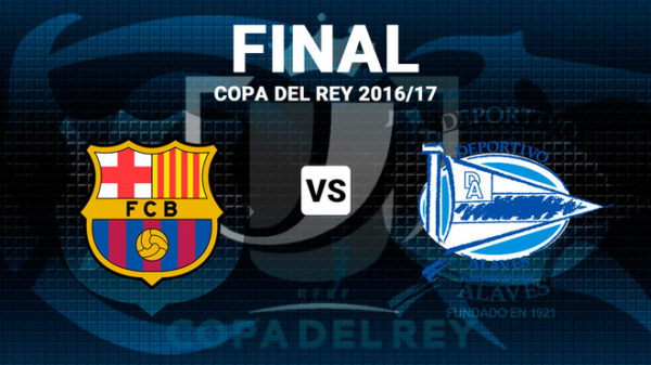 where to find copa del rey final between barcelona and alaves on us tv