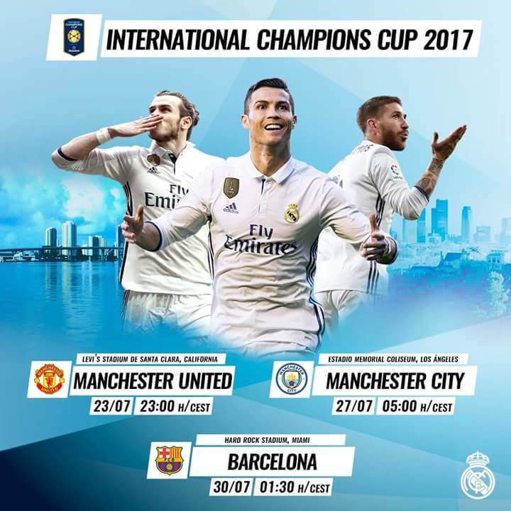 Real Madrid Schedule Usa Tour