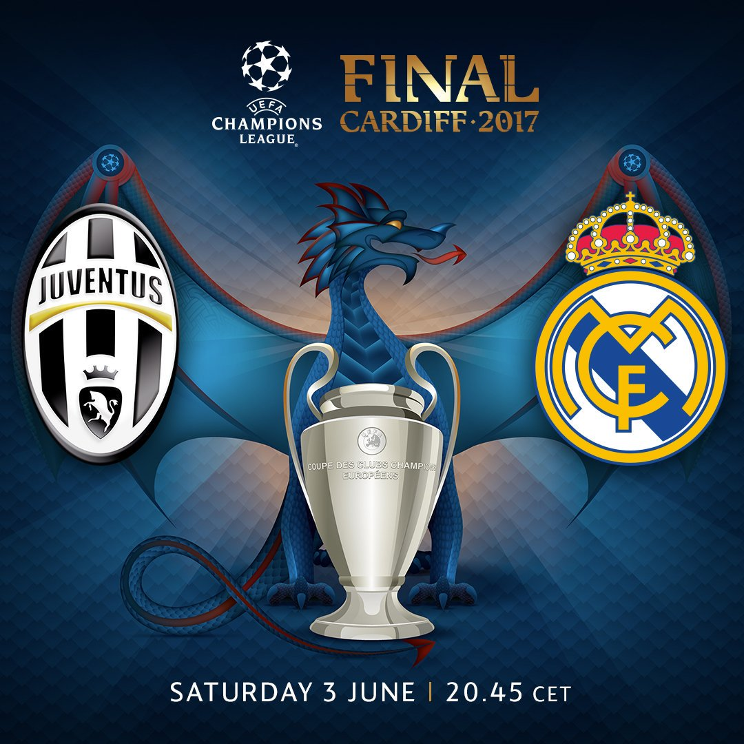 Real Madrid-Juventus Champions League final totalled 3 ...