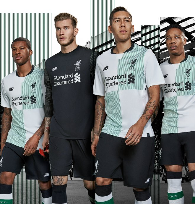 competitive price 6deae f1e45 Liverpool away jersey for 2017/18 season to celebrate club's ...