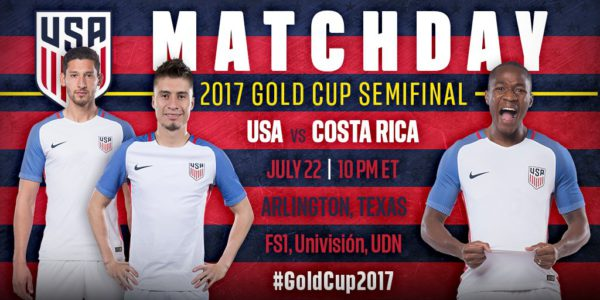 Where To Find Usa Vs Costa Rica Gold Cup On Us Tv And Streaming