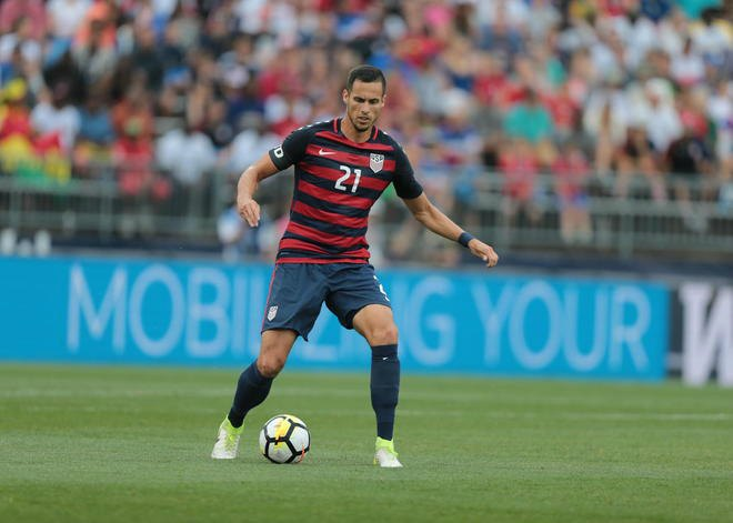 san francisco 3e0e2 4430b USA's jersey for Gold Cup features unique red and blue hoop ...