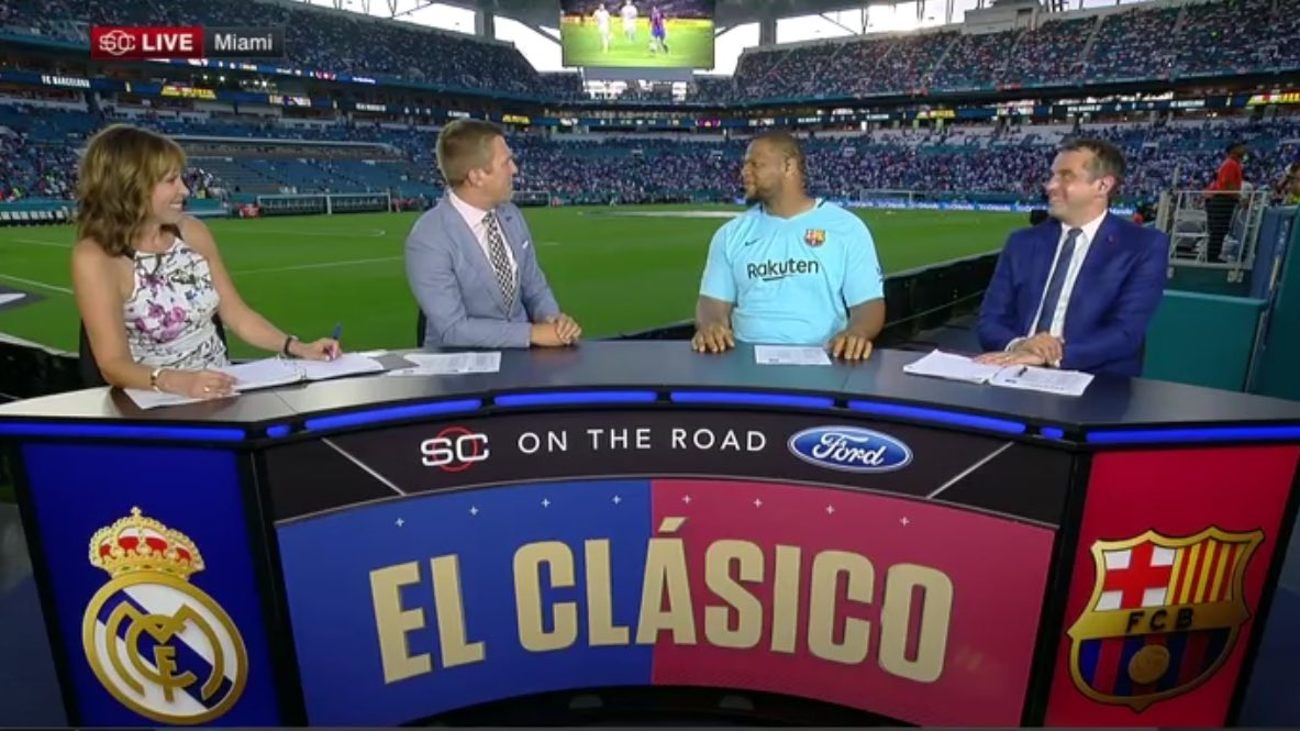 espn scores 1 7 million viewers for el clasico miami between barcelona and real madrid world soccer talk