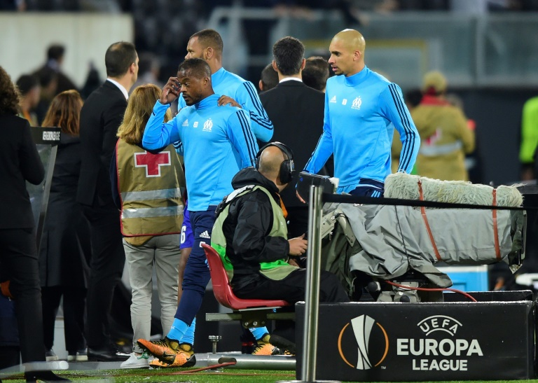 Evra red-carded before game for karate kick on own fan - World