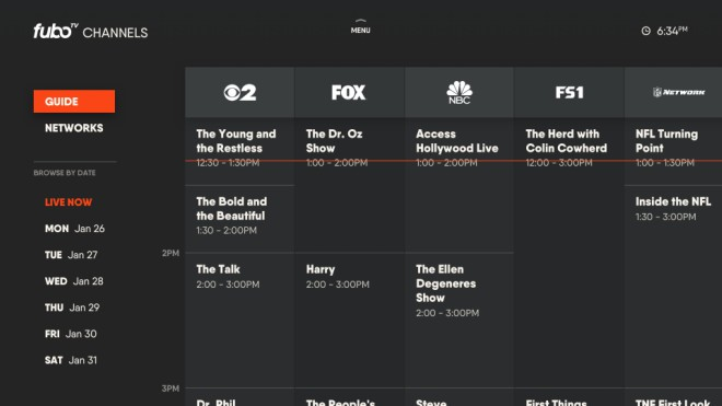 fuboTV's streams of local TV stations grows to more than 125 for cord cutters - World Soccer Talk