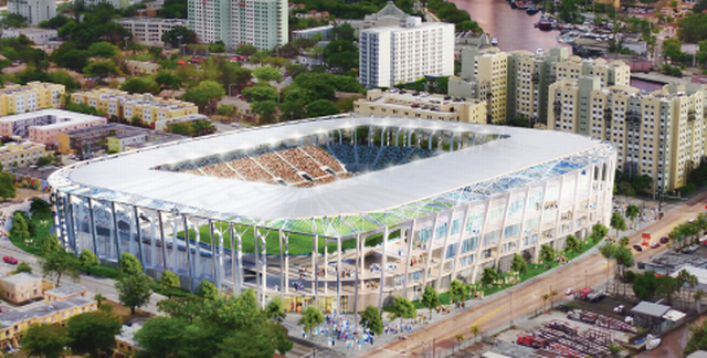 MLS takes calculated risk with Miami amidst stadium ...