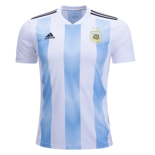 d7b97292f Argentina   adidas have outdone themselves with their new home jersey for  2018. Featuring the iconic sky blue and white stripes