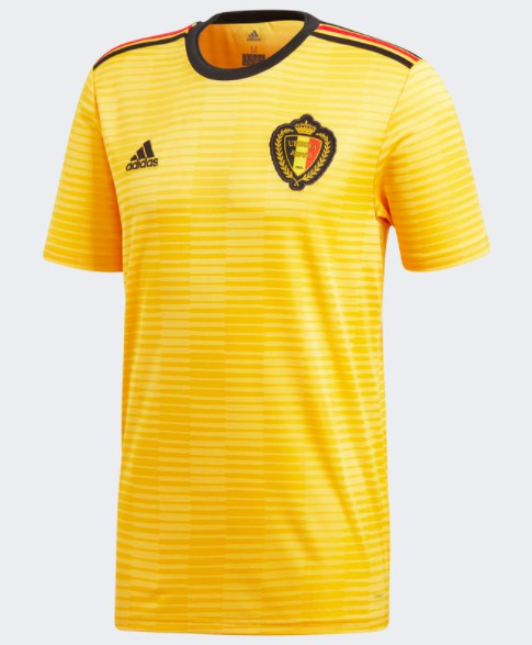A golden shirt for a country s golden generation. This men s soccer jersey  is styled after the away shirt Belgium s multi-talented national team wears. cf6513bae