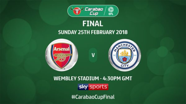 ESPN to broadcast League Cup final between Man City and