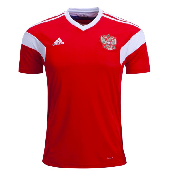 855fea2c9 Russia   adidas have unveiled their 2018 jersey for the World Cup hosts  with a classic approach. Drawing inspiration from their 1988 Olympic  jersey