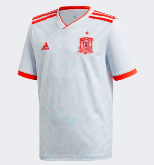 This jersey is clad in the light blue away colors worn by some of the most  successful sides in Spain soccer history. A version of the team s current  away ... 58fe4be6b
