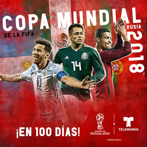 Telemundodeportes Com Ready For World Cup With 100 Days To