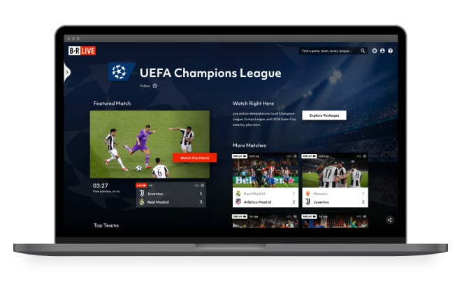 FAQ on Bleacher Report Live, the new home of the UEFA Champions
