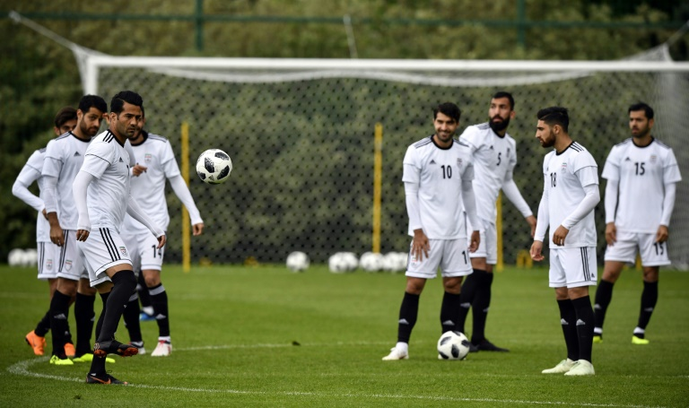 51b542187 ... (AFP) – US sporting goods giant Nike confirmed Monday it had stopped  supplying Iran s football team with boots ahead of the World Cup due to  sanctions.