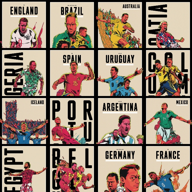 ESPN World Cup posters...