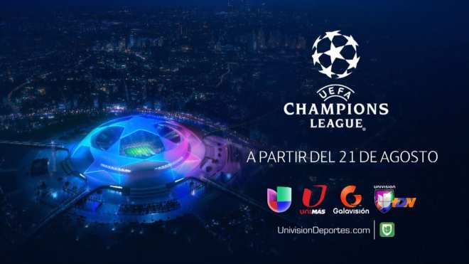 Univision to air twice as many Champions League games on TV than TNT