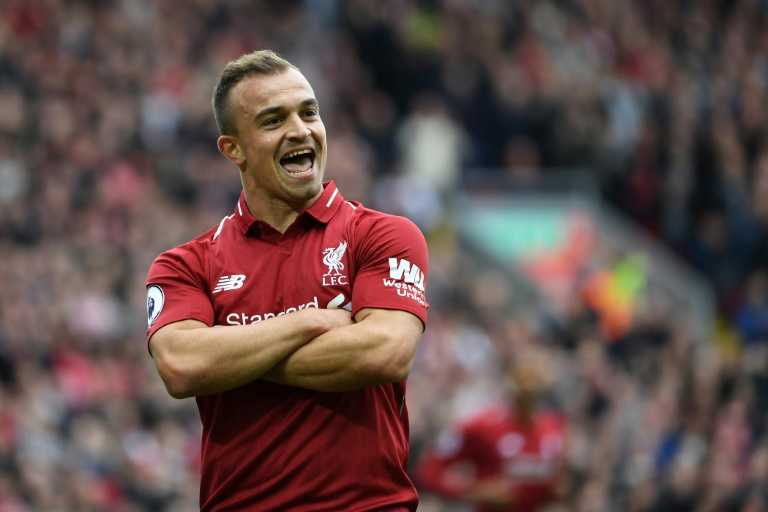 London (AFP) – Liverpool and Manchester City s shootout for the Premier  League title intensified on Saturday with comfortable wins over Southampton  and ... c1f60e233