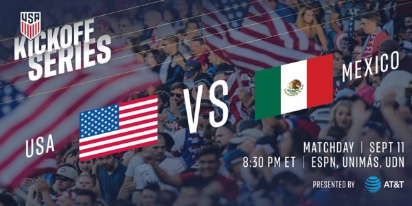 Where To Find Usa Vs Mexico Friendly On Us Tv And Streaming World