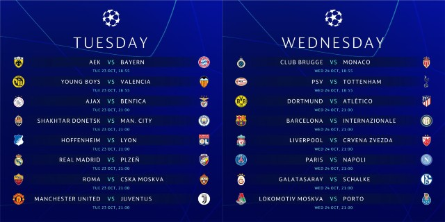 UEFA Champions League News And Fixtures