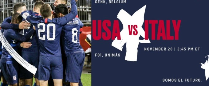 Where to find USA vs  Italy on US TV and streaming - World Soccer Talk