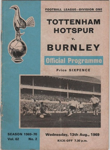 Spurs-burnley-programme