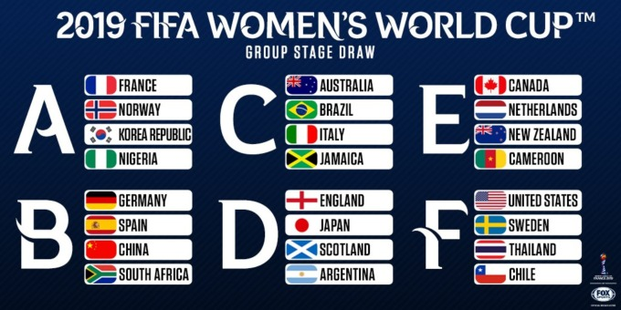 Terrible image with women's world cup schedule printable