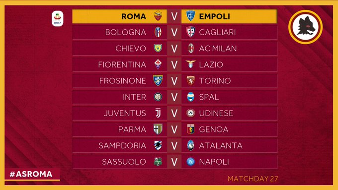 Where to find Roma vs  Empoli on US TV and streaming - World