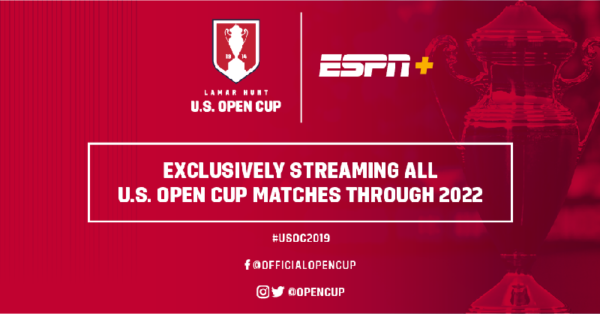 Espn Acquires Rights To Us Open Cup Through 2022 World