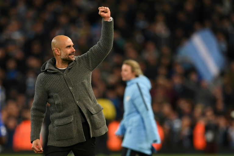 'We'll only get better': Guardiola warns City's rivals ...