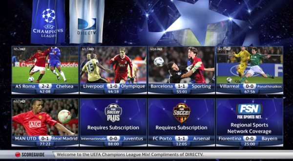 History Of The UEFA Champions League On US TV World