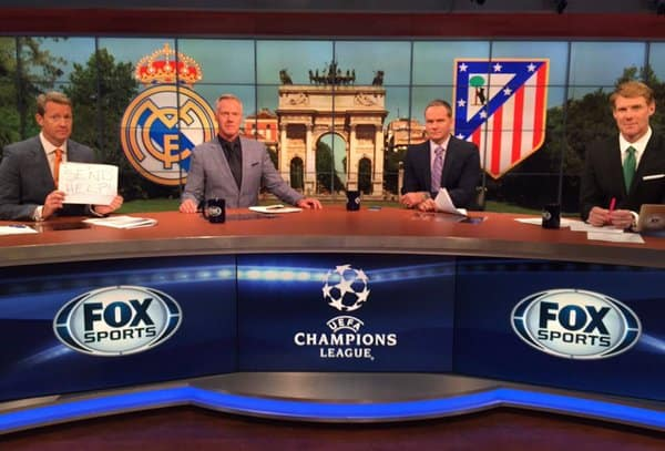 History of the UEFA Champions League on US TV