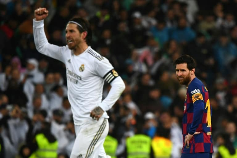 Real Madrid defeat Barcelona in Clasico to regain top spot ...