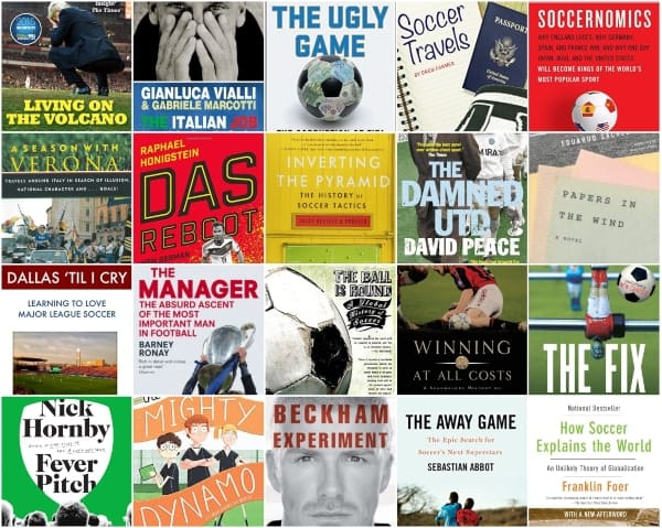 top 20 soccer book recommendations