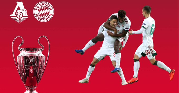 Where to find Lokomotiv Moscow vs. Bayern Munich on US TV and streaming