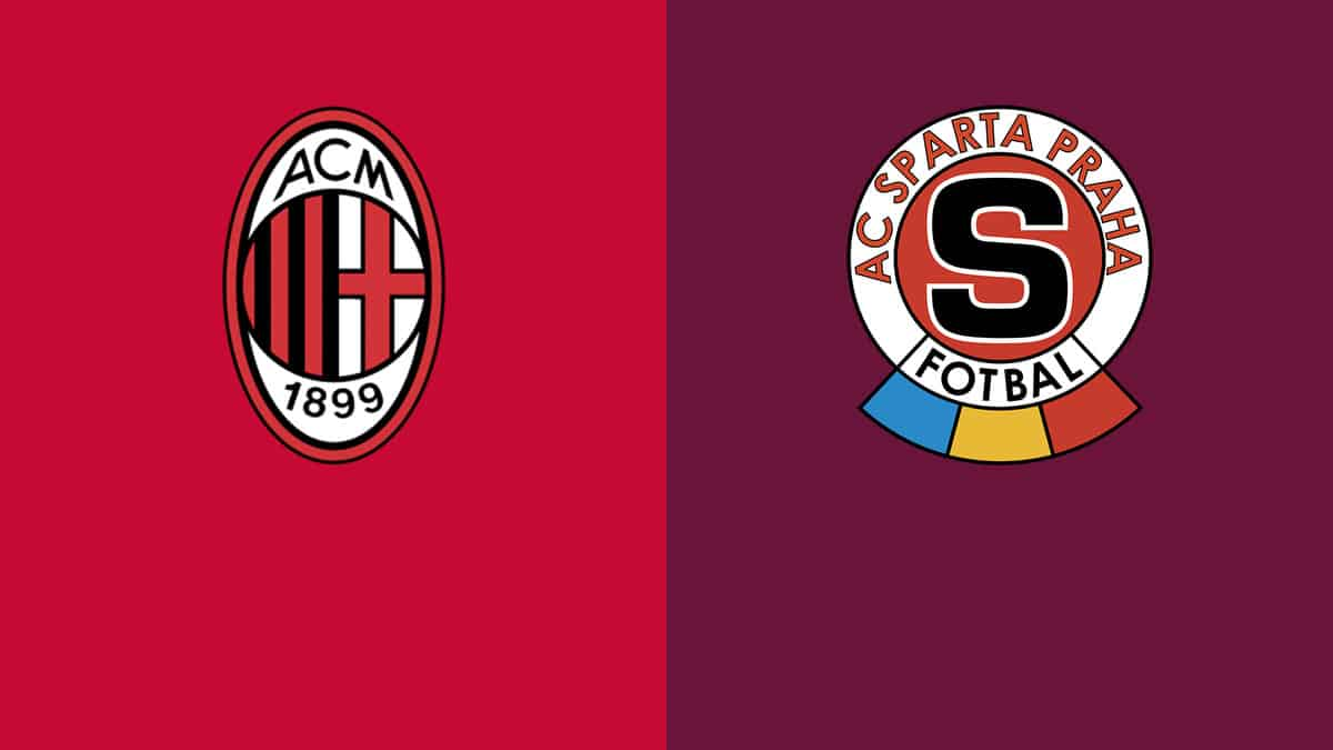 Where to find Milan vs. Sparta Prague on US TV and streaming