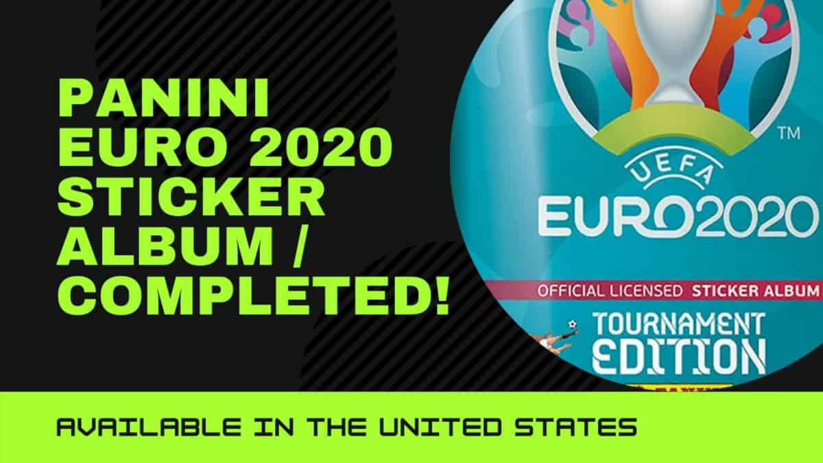 Euro 2020 stickers from Panini: See the complete album collection [VIDEO]