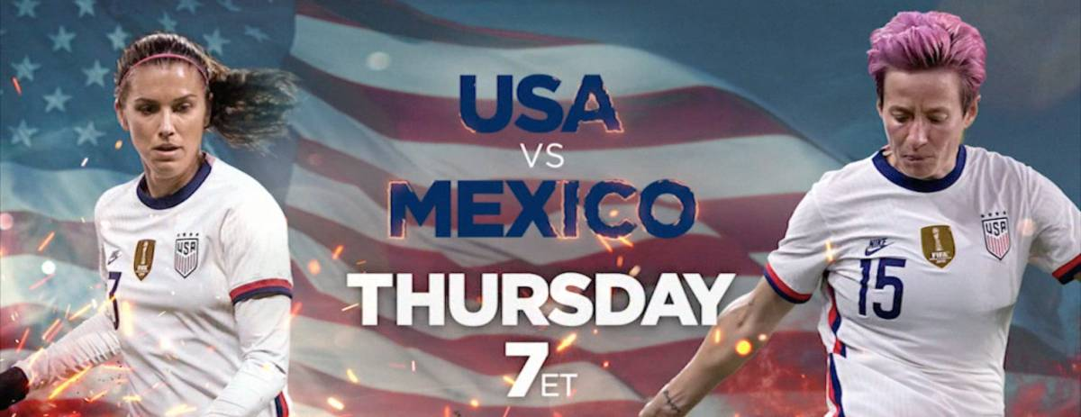 Where to find USA vs. Mexico women's friendly on US TV and streaming - World Soccer Talk