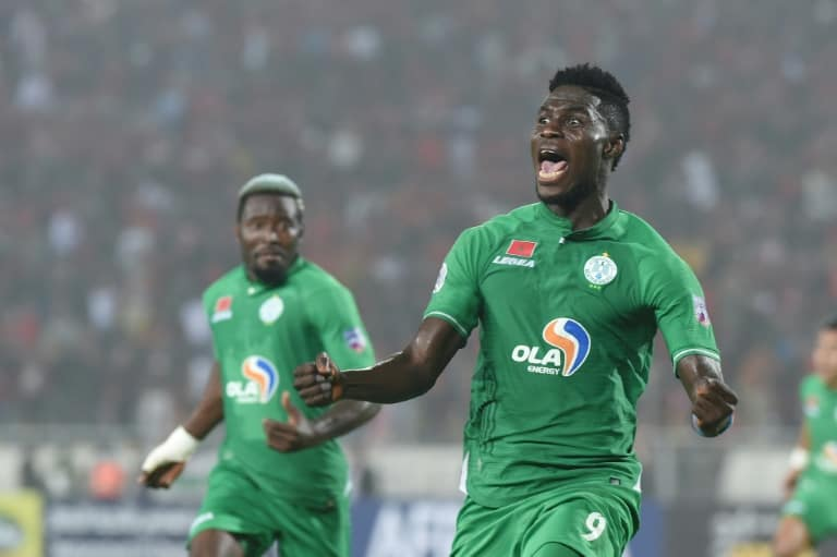 Image Raja survive battering with 10 men to win CAF Confederation Cup
